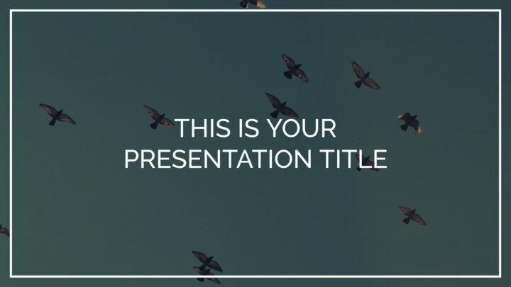 Estilo Nostálgico. Plantilla PowerPoint gratis y tema de Google Slides