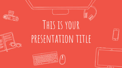 Free fresh Powerpoint template or Google Slides theme for startups