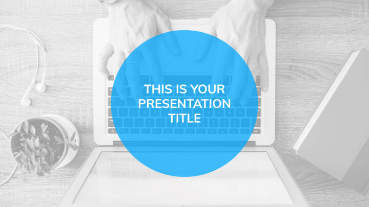 Blue Professional. Free PowerPoint Template & Google Slides Theme