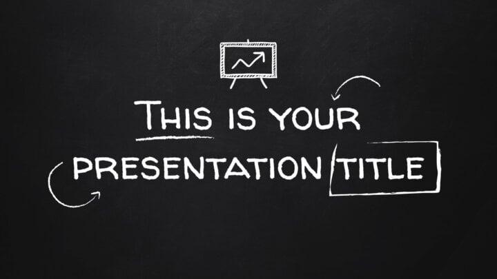 School Blackboard. Free PowerPoint Template & Google Slides Theme