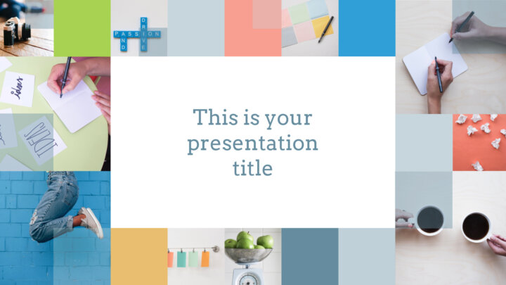 Cool Squares. Free PowerPoint Template & Google Slides Theme