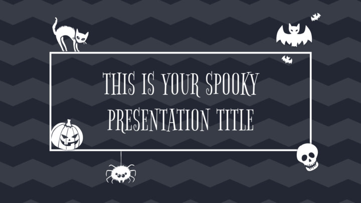 Cute Halloween. Free PowerPoint Template & Google Slides Theme