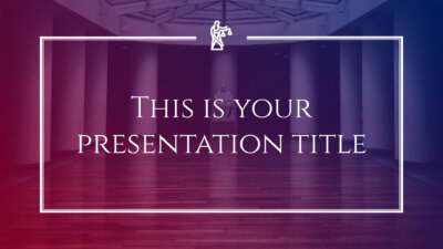 Free legal and justice presentation - Powerpoint template or Google Slides theme