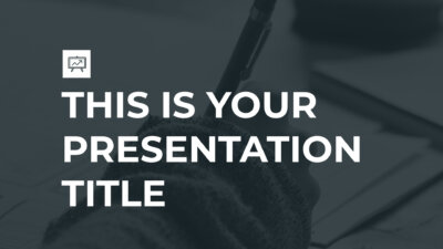 Free modern presentation for startups - Powerpoint template or Google Slides theme