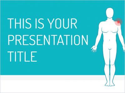 Free medical presentation - Powerpoint template or Google Slides theme