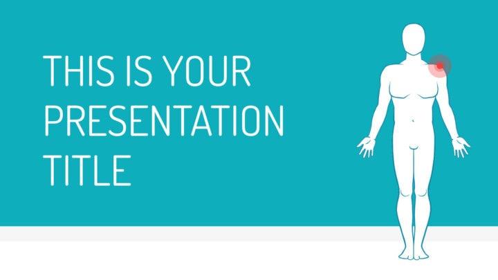 Médica Minimalista. Plantilla PowerPoint gratis y tema de Google Slides