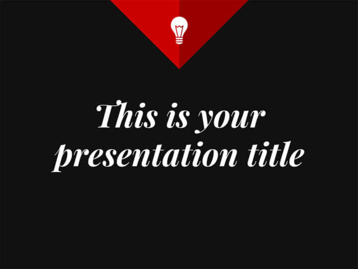 Free Presentation Template Elegant And Minimal Design