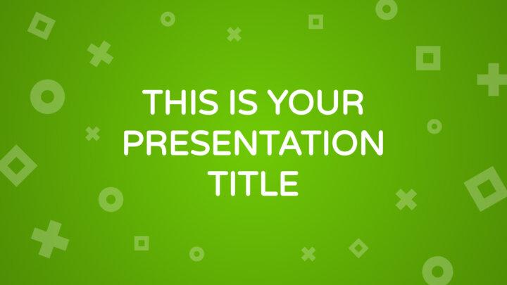 Green Maths. Free PowerPoint Template & Google Slides Theme
