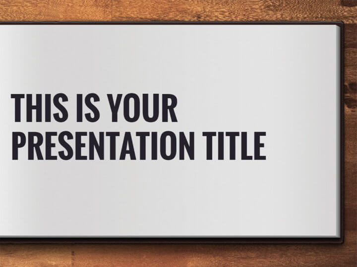 Free powerpoint template or google slides theme with open book design toneelgroepblik
