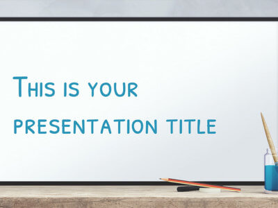 Free education powerpoint templates and google slides themes free education presentation design powerpoint template or google slides theme toneelgroepblik Image collections