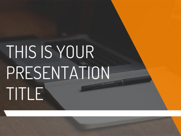 Free Modern And Dynamic Powerpoint Template Or Google Slides Theme - Free modern logo templates