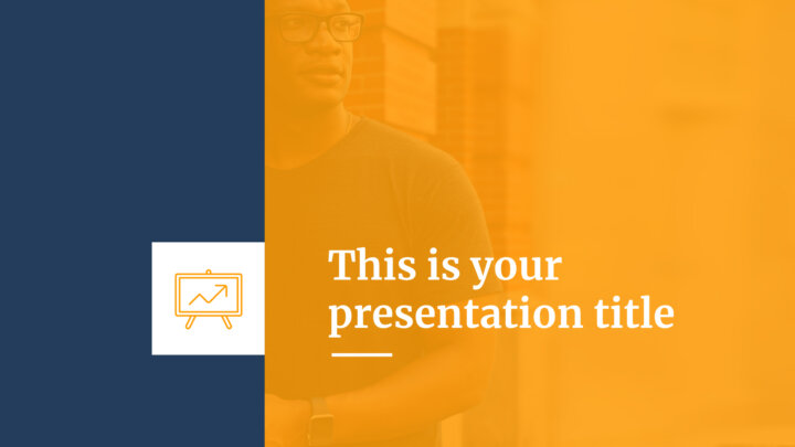 Stylish Pitch Deck. Free PowerPoint Template & Google Slides Theme