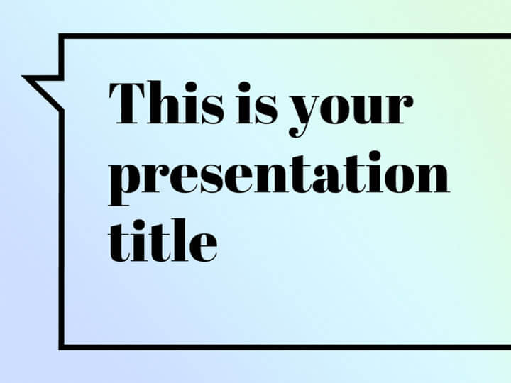 Free Presentation Template  Elegant With Feminine Touch
