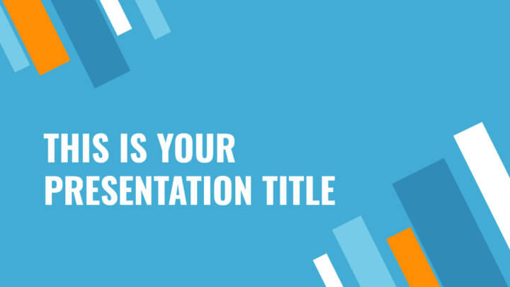 Modern and dynamic free Powerpoint template or Google Slides theme