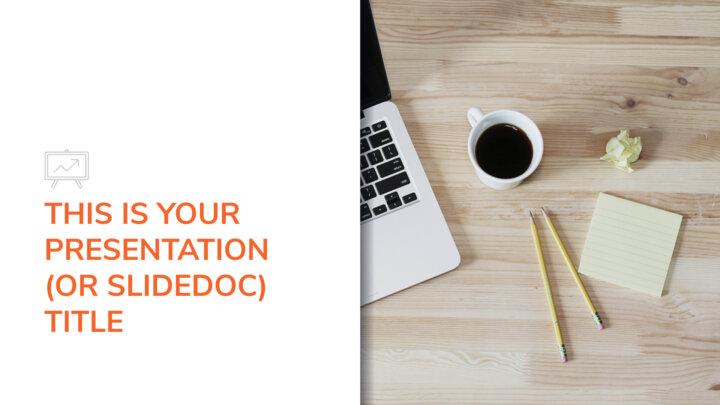 Business Slidedoc. Free PowerPoint Template & Google Slides Theme