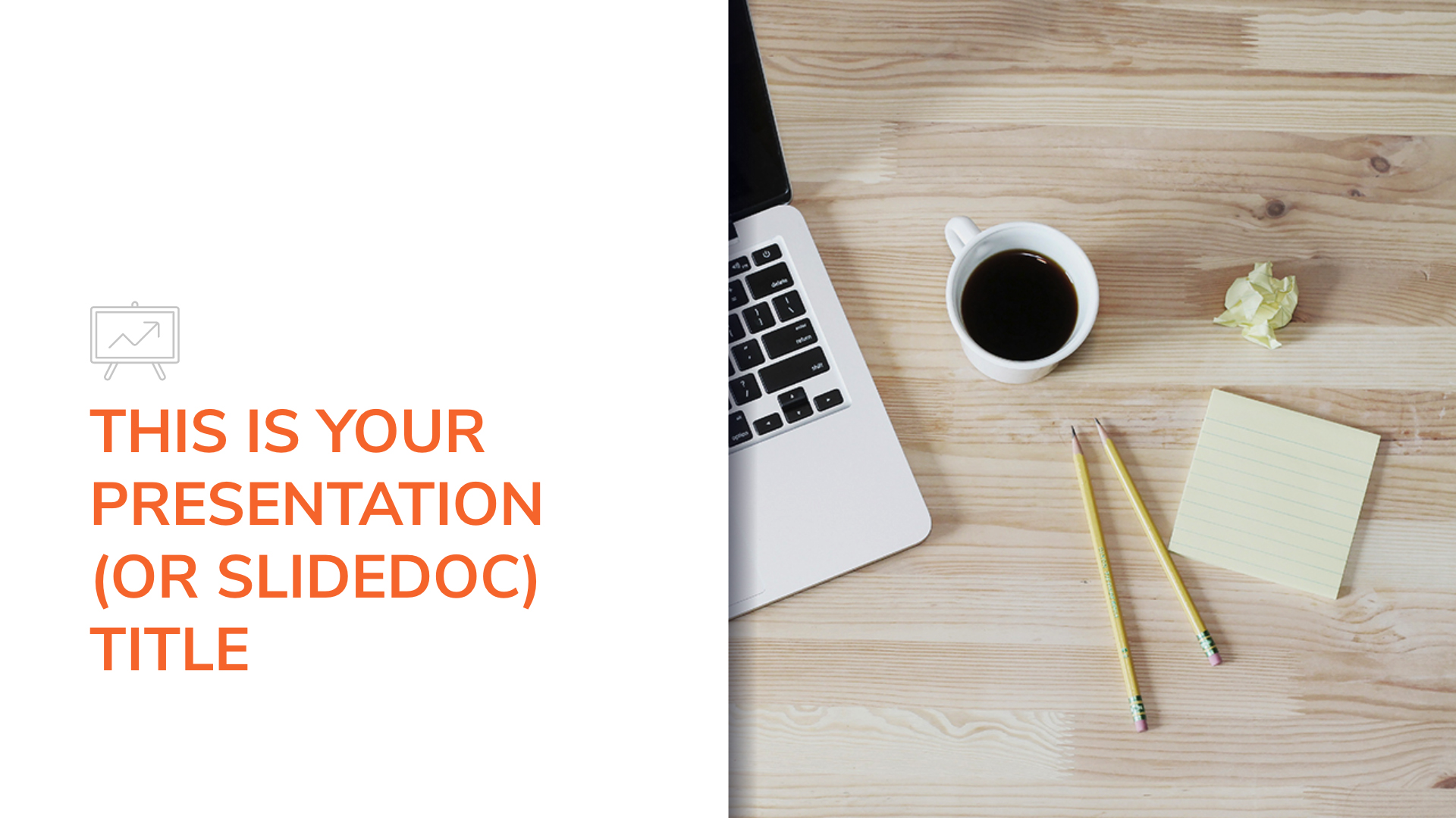 Free professional and clean Powerpoint template or Google Slides theme for slidedocs