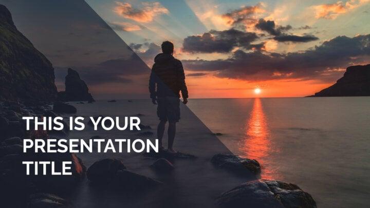 Creative Big Photos. Free PowerPoint Template & Google Slides Theme
