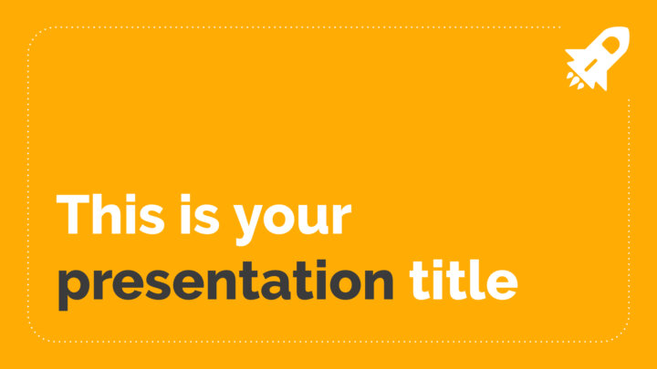 Amarilla Moderna. Plantilla PowerPoint gratis y tema de Google Slides