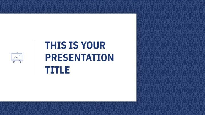Asian Geometric. Free PowerPoint Template & Google Slides Theme