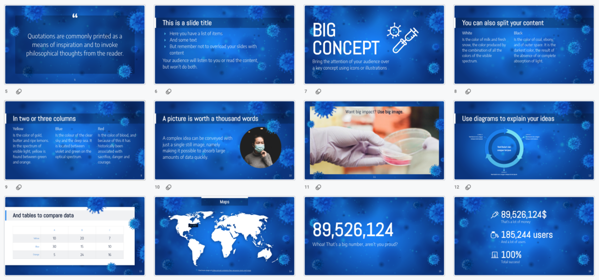 Best Powerpoint free templates