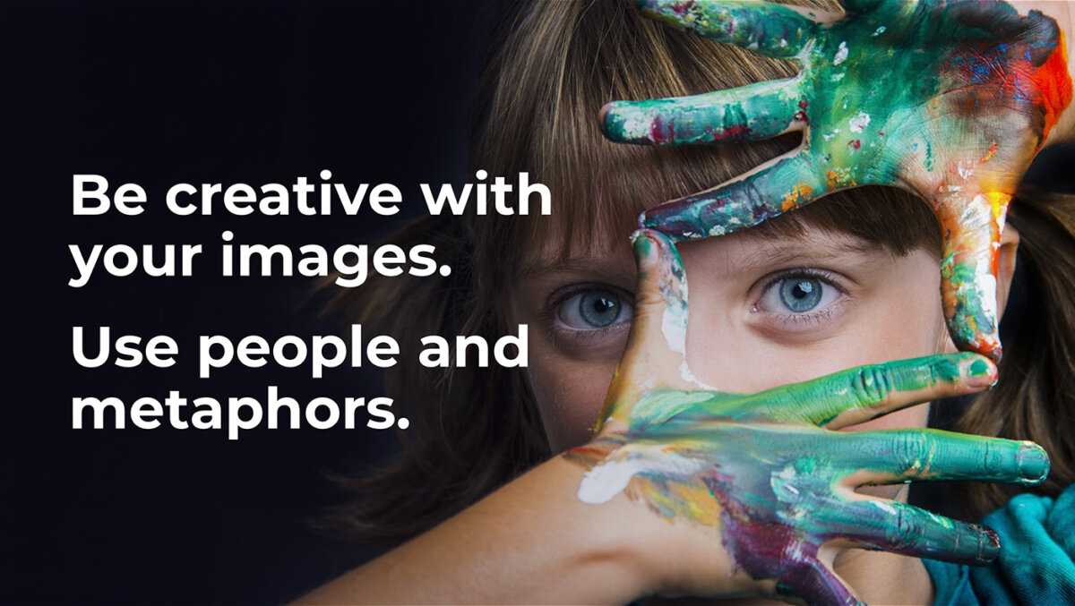 Emotional Design to Engage and Connect With Your Audience: Use Strong Images