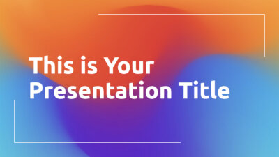 Free lgbtiq Powerpoint template and Google Slides theme with colorful gradients