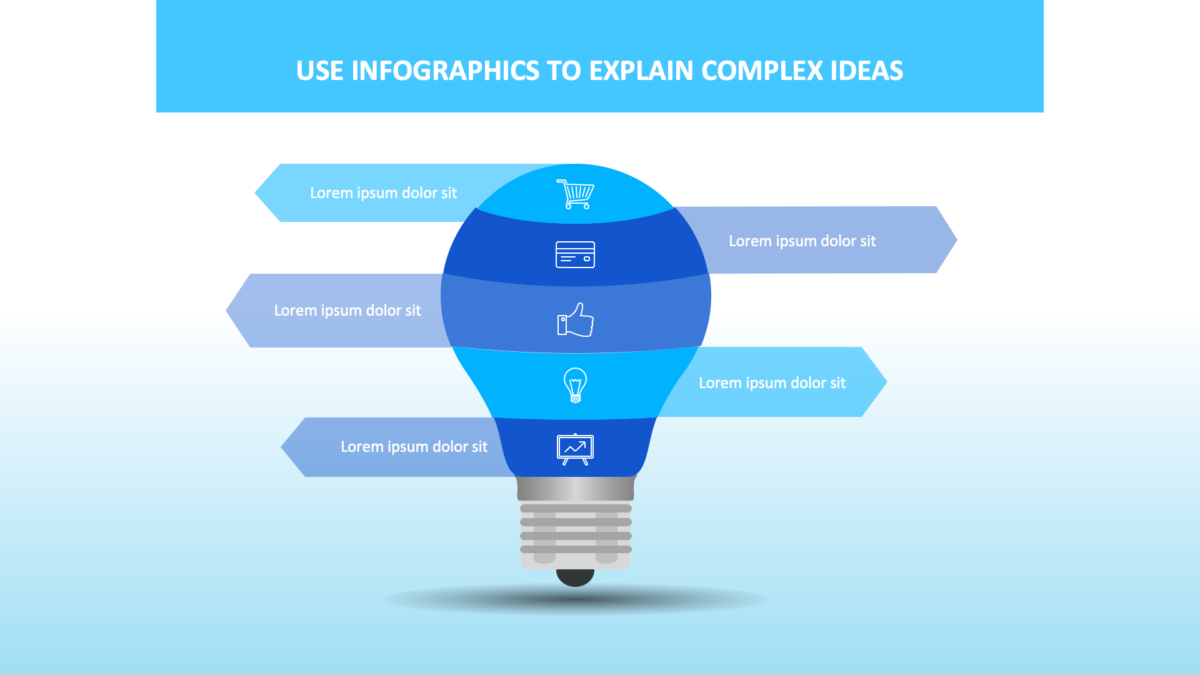 Use Visual Communication To Elevate Your Presentations - Use diagrams and infographics