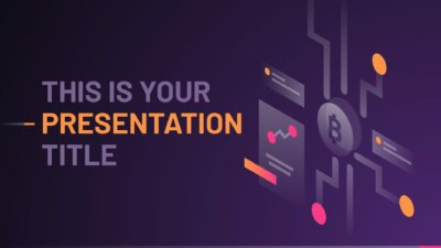 Free technology Powerpoint template and Google Slides theme with transparent conceptual illustrations