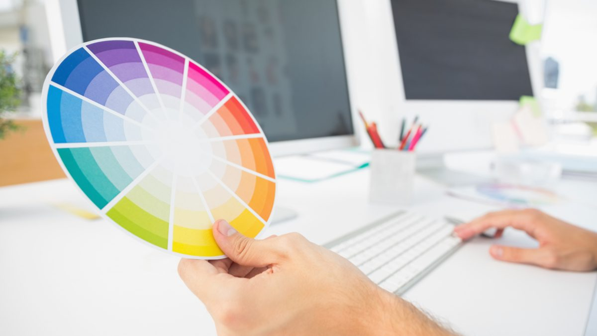 How to pick the best colors for your presentation - Color Wheel