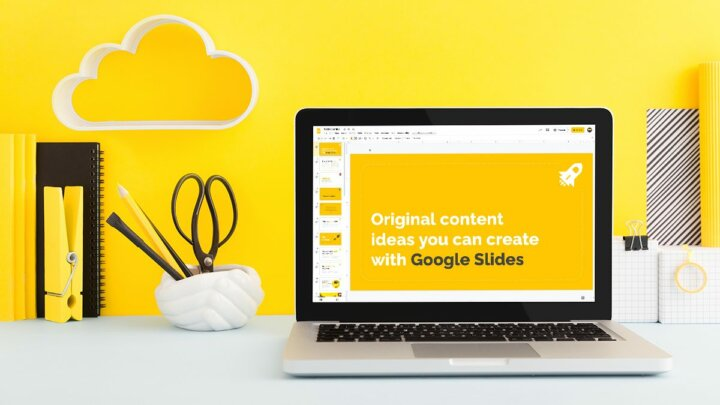 10 original content ideas you can create with Google Slides