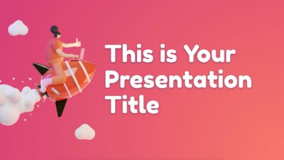 Free playful Powerpoint template and Google Slides theme with 3D people